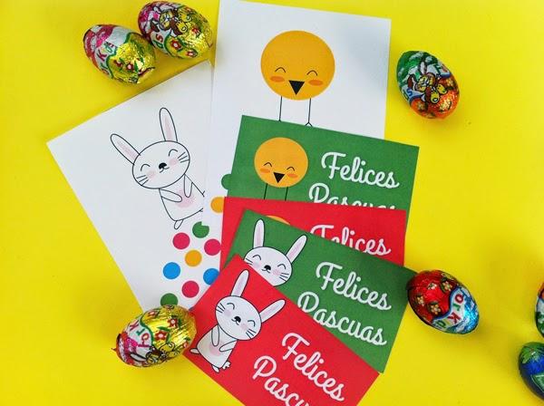 foto de tarjetas de Pascua imprimibles