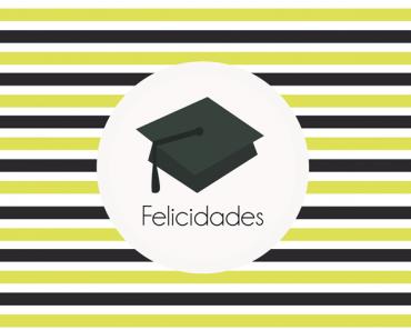 Imprimibles para felicitar la graduación