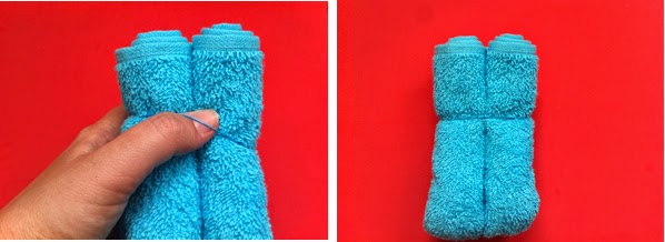 C mo hacer un perrito con una toalla manualidades for Adornos con toallas