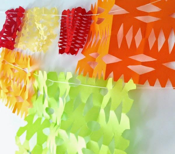 como hacer papel picado fcil