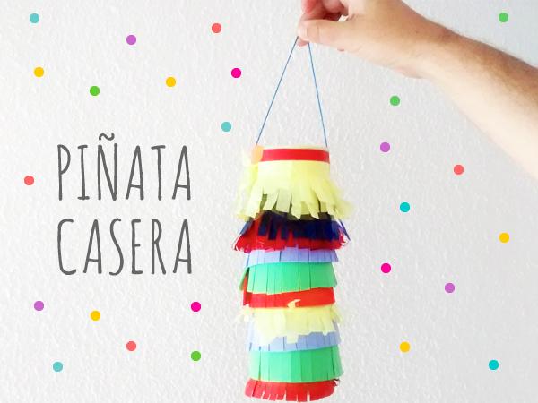 Piñata fácil y rápida DIY