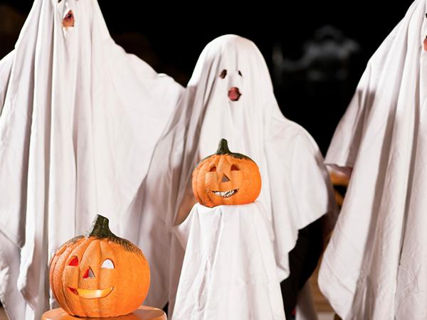 Disfraz De Fantasma Casero Para Ninos Manualidades - Como-hacer-un-disfraz-casero