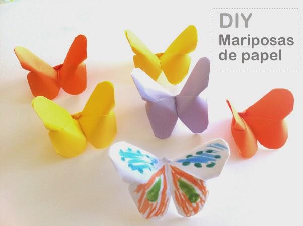 Como Hacer Mariposas De Papel Facil Y Rapido Manualidades