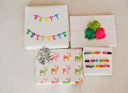 ideas para envolver regalos sin papel de regalo