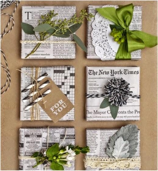 C mo envolver un regalo sin papel de regalo manualidades - Papel de regalo original ...