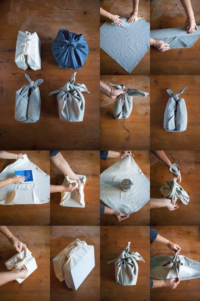 ideas para envolver regalos con telas