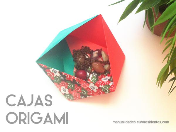 caja origami fácil