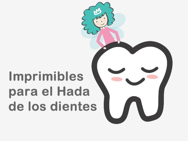 Imprimibles Hada de los dientes