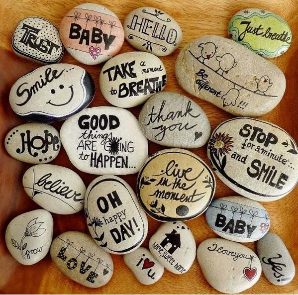 Pintar y decorar piedras a mano consejos b sicos e ideas for Donde conseguir piedras para pintar