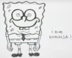 Como dibujar a bob esponja paso a paso