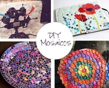 Cómo hacer mosaicos: materiales e ideas originales para inspirarte