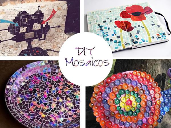 c mo hacer mosaicos materiales e ideas originales para