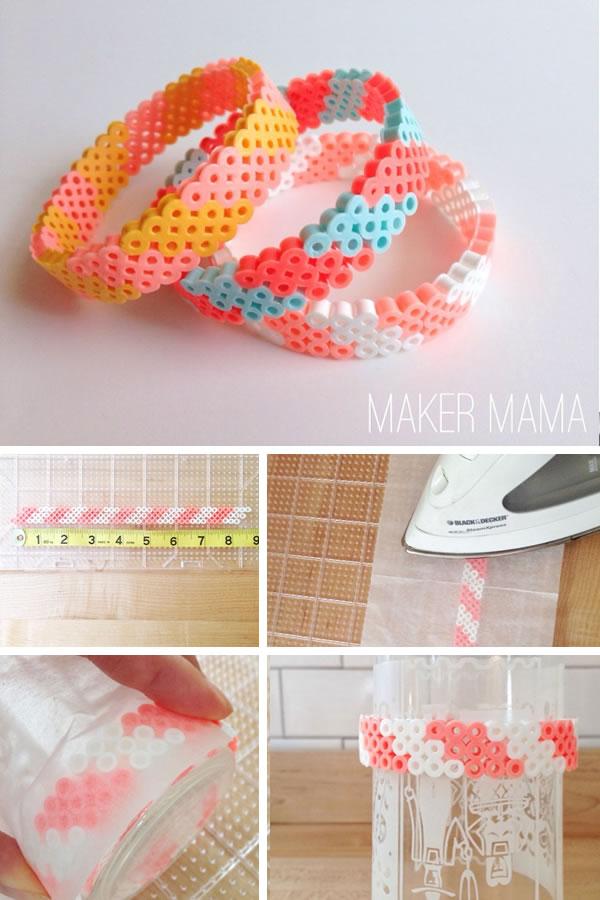 Pulseras con hamma beads