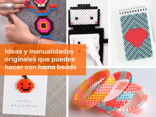 Manualidades originales con hama beads manualidades - Que manualidades puedo hacer ...
