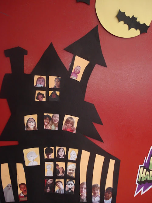 12 Ideas Para Decorar La Puerta De Clase En Halloween