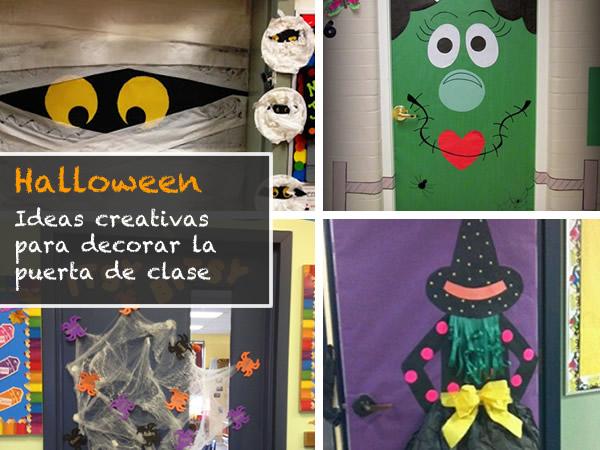 12 ideas para decorar la puerta de clase en halloween for Ideas para decorar puertas