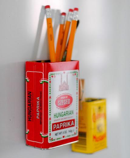 manualidades portalápices con latas