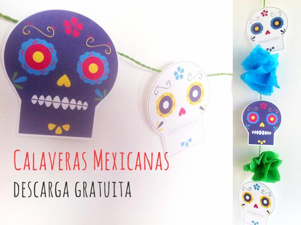 Dibujos de calaveras mexicanas para imprimir y decorar - Manualidades