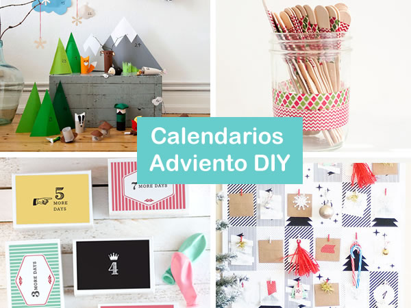18 calendarios de adviento caseros f ciles de hacer for Calendario manualidades