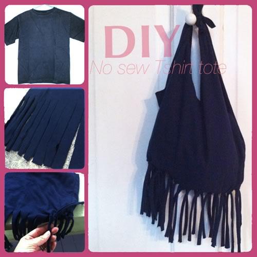 como hacer un bolso sin coser