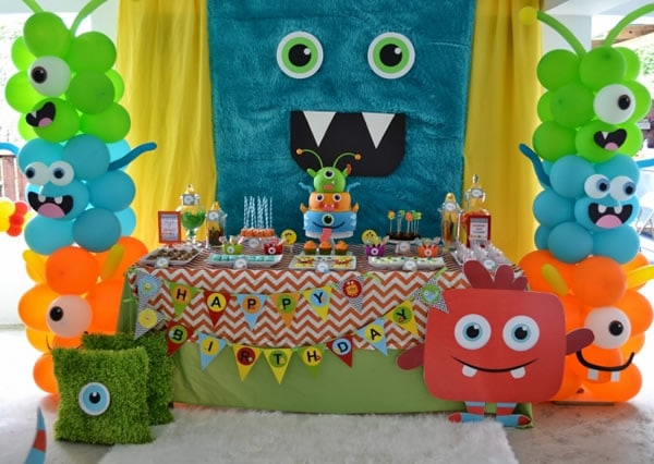 Manualidades para fiestas: decoración fiesta infantil