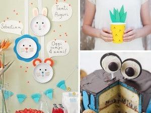 Ideas fáciles y divertidas para fiestas infantiles
