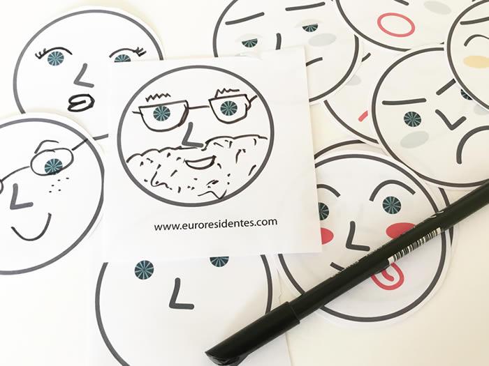 Imprimible para aprender a reconocer las emociones