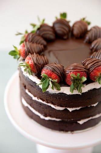 Manualidades fiestas: tarta chocolate