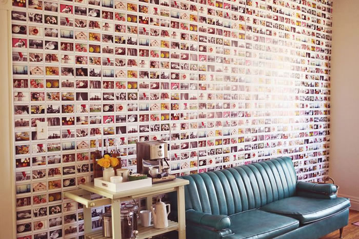 Ideas para decorar paredes con fotos de una forma creativa y