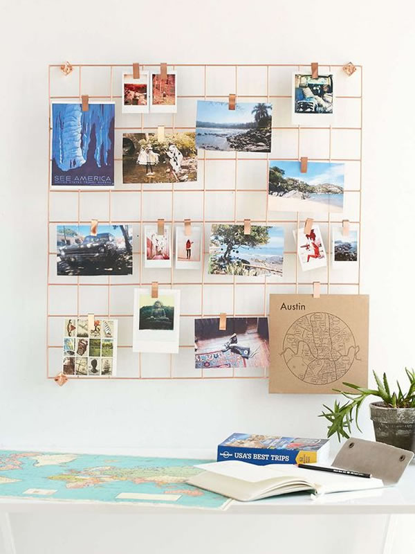 Ideas para decorar paredes con fotos de una forma creativa y original manualidades - Ideas fotos pared ...