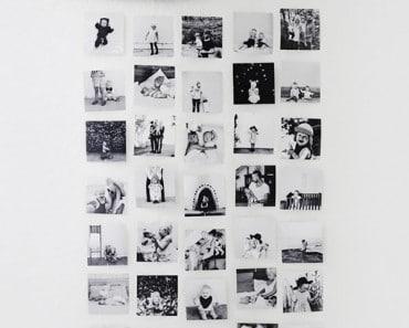 Ideas para decorar paredes con fotos