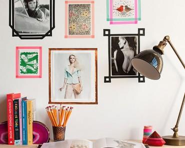 Ideas para decorar paredes con fotos de una forma creativa y original