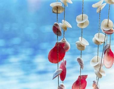 Guirnalda de conchas: manualidades