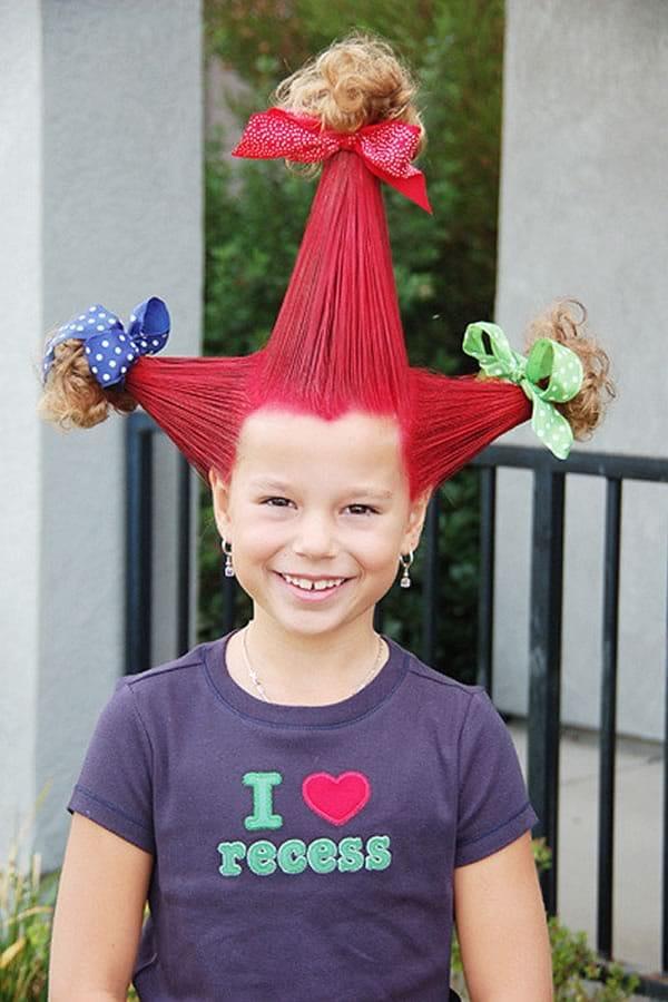 Ideas para peinados divertidos: