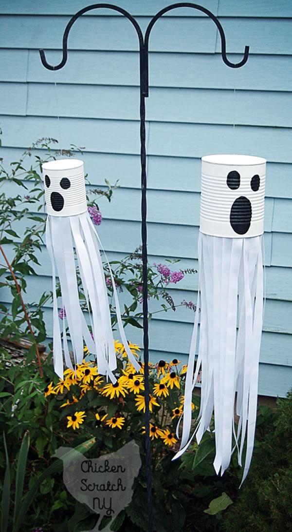 Manualidades de Halloween para niños: fantasma