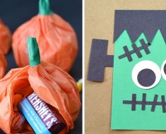 Manualidades Halloween para hacer en clase