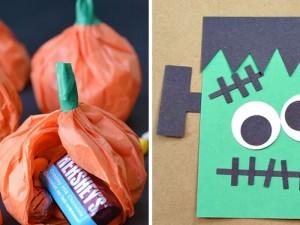 18 creativas manualidades de Halloween para niños