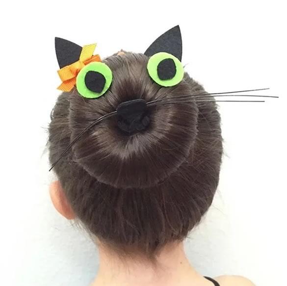 Idea peinado de gato