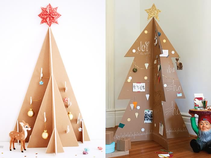 Arbol de navidad con carton good rbol de navidad con for Arbol de navidad con cajas de carton
