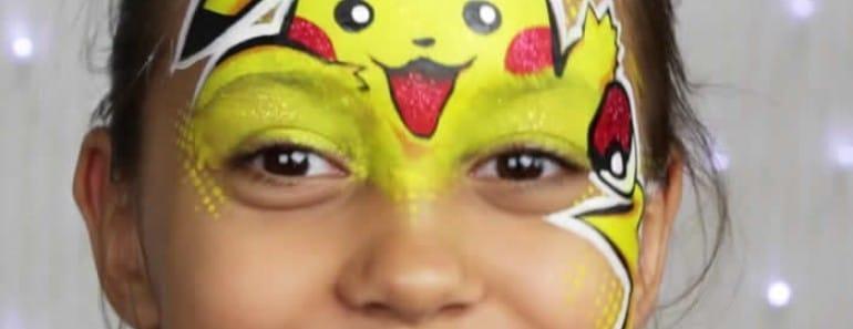 maquillaje-pikachu