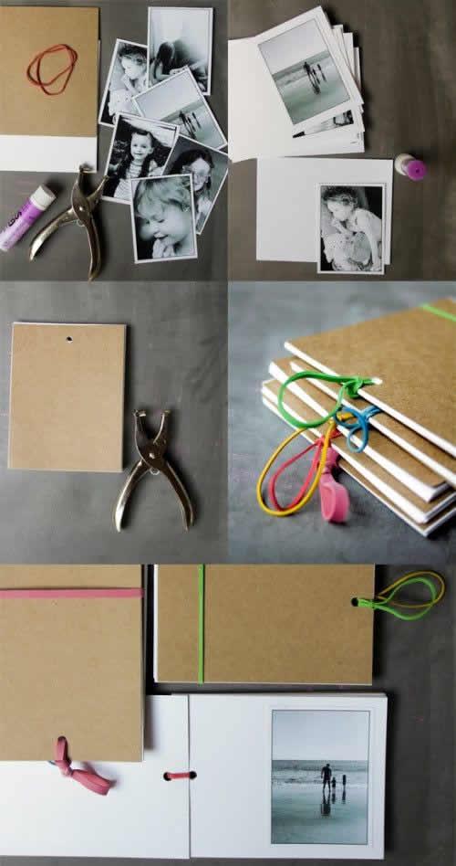 Manualidades Día del Padre: álbum de fotos personalizado