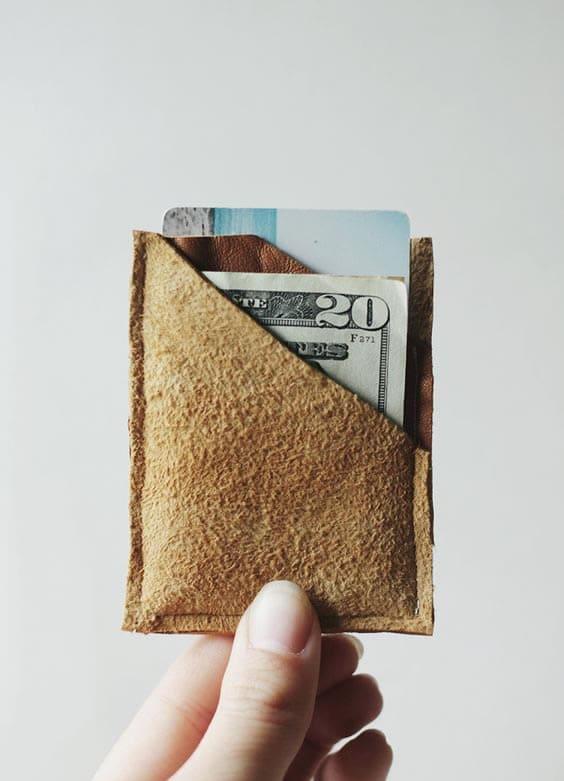 Manualidades Día del Padre: billetera