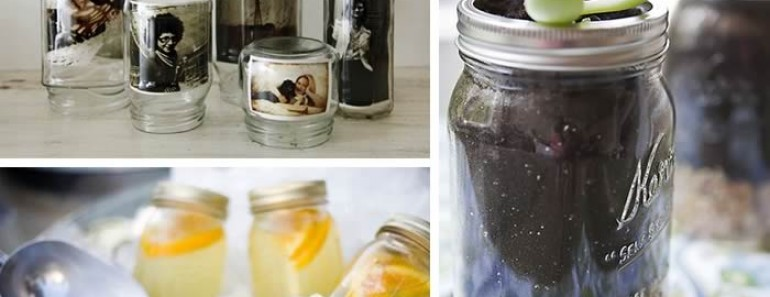 Ideas creativas para reciclar botes de cristal