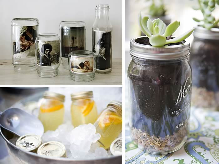 Creativas ideas para reciclar tarros de cristal manualidades for Reciclar botes de cristal decoracion