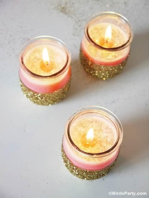 Ideas para reciclar tarros de cristal: velas caseras