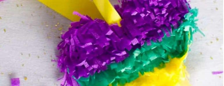 Cómo hacer piñata con forma de corazón
