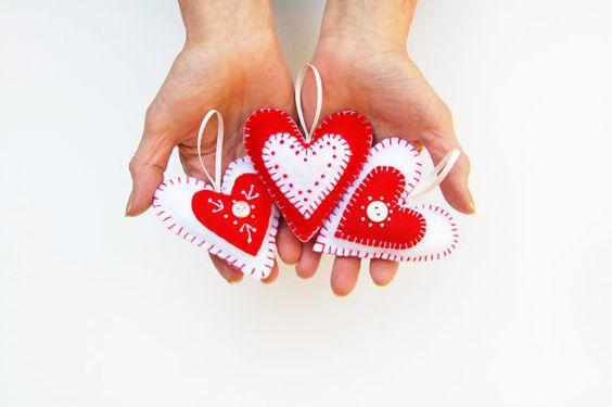 Llaveros corazón Día de la Madre
