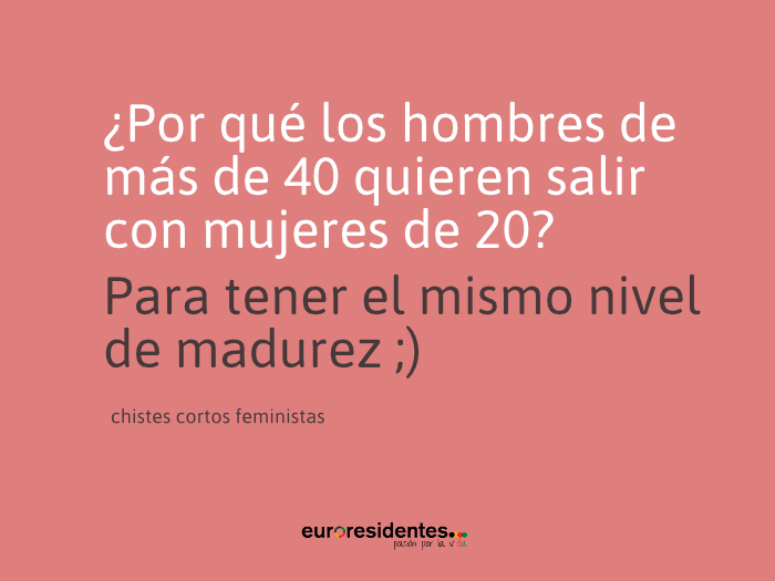 Chistes Cortos Feministas - Blog Mis chistes