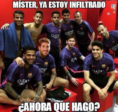 Los mejores memes del Madrid - Barcelona (El Clásico)