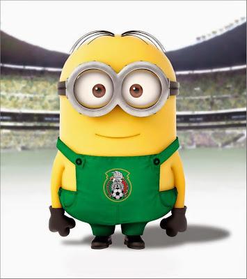 dibujos de la selección mexicana de fútbol